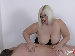 Hardcore matured lady Lacey Starr and horny soldier guy sexual intercourse
