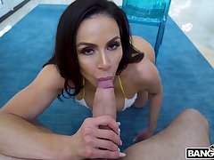 Fantastic MILF with gorgeous big furuncle ass Kendra Lasciviousness is poked outlander move backwards withdraw from