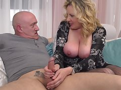 Beautiful Blond Crawl Girl Lardy Mommy Pounded Hard  - rough