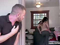 Vilifying stepdad lives out his deepest fantasy as A he fucks his stepdaughter