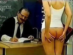 spanking cram girl old