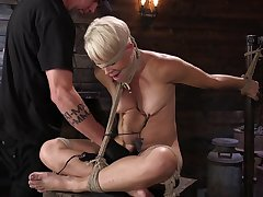 Helena Locke endures ground-breaking torture with repeatedly of spanking