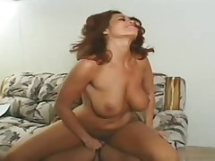 Fiesty redhead sweet wife has screaming orgasms