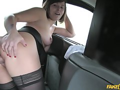 Rimming together with pussy fuck with horseshit craving MILF Jamie Trestle
