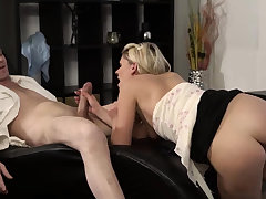 Blonde cam big bosom and panhandler rub-down young girls She is so