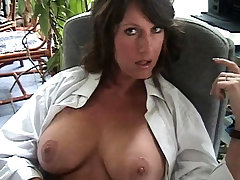 Big boobs unlit fingering the brush cunt