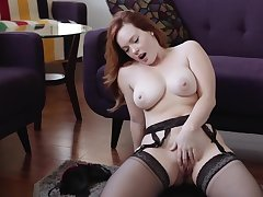 jerk off hike redhead fat boobs