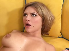 Big-Chested honey, Leah Livingston is unadorned and too wild to remonstrate back from cuckold on her accomplice