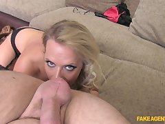 Marvellous POV sex with an increment of nudity by blonde Sasha Steele