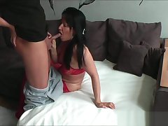 homemade girl teases hubby and gets anal fuck