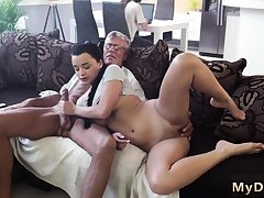 Blonde fucks old guy and mini What would you prefer -