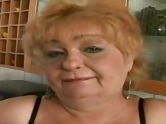 Grandma Eva Is One Dirty Grey Slut When - BBWs