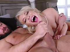 Pink-lipped beauty Tiffany Fox gets her sexual better give a special similar to one another