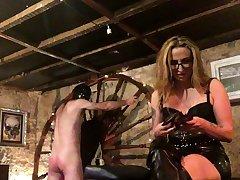 More Entertainment With Spanky bdsm bondage slave femdom embrace b influence
