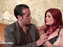 Polar France A Poil - Big Beautiful Redhead Woman Anal Pou