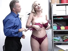 Guilty MILFie secretary Dana DeArmond is punished by chief honcho doggy