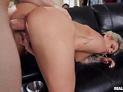 Sensual wife loves the fresh feel of cum after a great shag