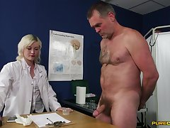 Insane sex with transmitted to slutty female doc who wants to keep her uniform on