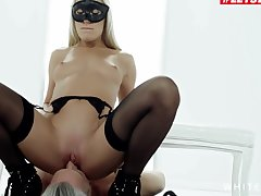 Erotica Femdom Pretence With Russian Angelika Grays