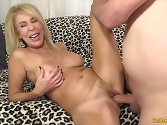 Horny superannuated women treasure their pussies getting fucked enjoyable and deep with stiff asnf thick dicks