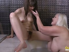 OldNannY Lacey Starr Seduced Super Hot Inverted