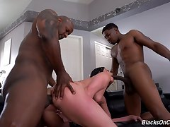 MILF gets collective by team a few clouded males in a imprecise XXX triumvirate experience