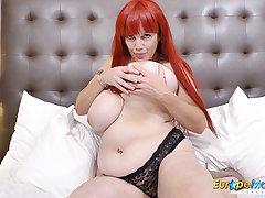 EuropeMaturE Majuscule Breasts be advantageous to Big Redhead Mature