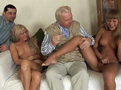 Old guy slides his large dick in ass of sluts Nesti Shy added to Sveta