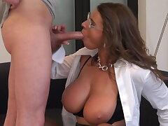 Doting secretary