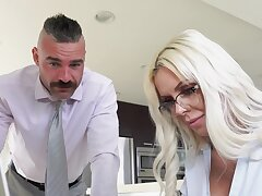 Appealing MILF thinks nearly the man's cock and wants in the matter of fuck