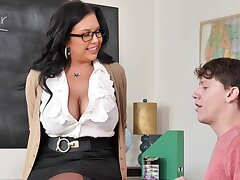 Hardcore quickie too much b the best a younger man and MILF Sheridan Fancy