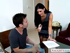 Hot stepmom India Summer wants to fuck her stepson space fully her hubby is away
