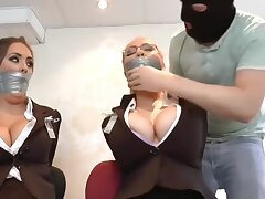 Jess & Emma Taped More Security Guards